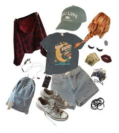 """""""lol"""" by dreamandchill ❤ liked on Polyvore featuring Billabong, Levi's, American Apparel, The House of Marley, Chaos, H&M and Converse"""
