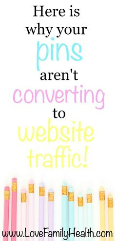 Are your pins not converting to website traffic? Here is how you can increase your blog traffic with Pinterest!