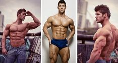 FIT HOT GUYS: THE INCREDIBLE MUSCULAR STEVE MORIARTY