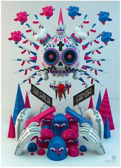 Chilanga Banda by El Grand Chamaco  Expo Seguiremos Siendo- Mexico DF-