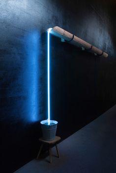 Lampe « Ewiger Lauf » by Rolf Sachs at Gallery Ammann
