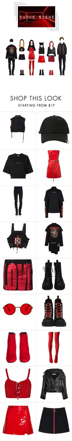 """""""The Heartbeat Of A Broken Promise - Bitter Sweet's Dance Scene/Ending"""" by pastelgothprincess27 ❤ liked on Polyvore featuring StyleNanda, Yves Saint Laurent, Unravel, CYCLE, Topman, Vetements, Givenchy, Off-White, Cape Robbin and Balenciaga"""