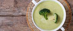 Creme de brócolis detox lucika diniz