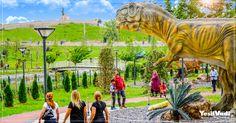 Bölgede ilk ve tek olma özelliği taşıyan Dinozor Parkı'mız ziyaretçiler tarafından yoğun ilgi görüyor.  #Yesilvadi #Gaziantep #DinozorPark