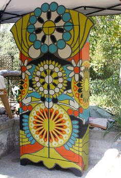Amazing armoire by a painter from Argentina