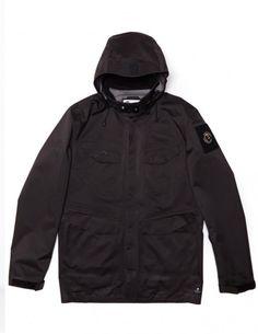 1b243afb31164 Coldsmoke Waterproof M65 Field Jacket In Dark Charcoal - X-Small M65  Jacket