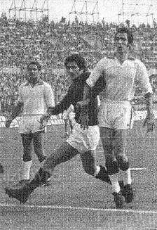 Torino 1 Lazio 1 in Oct 1970 in Turin. Lazio defend in a decent away draw in Serie A.