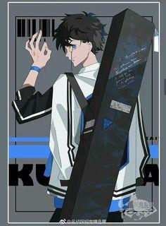 creds to owner Anime Guys, Manga Anime, Anime Art, Conan, Detective, Comic Character, Character Design, Kaito Kuroba, Amuro Tooru