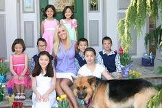 Kate Gosselin and children