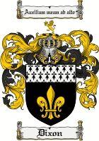 Dixon Coat of Arms / Dixon Family Crest