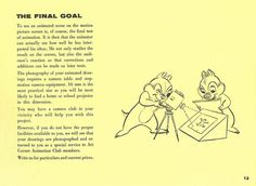 Page #13 | Walt Disney's - Tips on Animation - The Final Goal