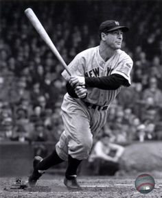 "One of the most well known Yankees this is Lou Gehrig. He made his debut to the MLB on the Yankees in 1923, and his last appearance was also on the Yankees in 1939. He was nicknamed ""The Iron Horse"". His batting average was .340. He was voted the best 1st baseman of all time. He died of Amyotrophic lateral sclerosis or ""Lou Gehrigs Disease."