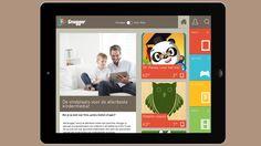Snugger is een nieuwe app voor tablets die je kunt gebruiken om leuke media te zoeken voor jouw leeftijd (games, apps, films en e-books)