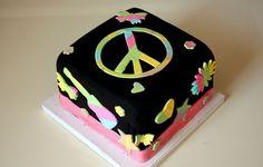 Tye Dye Cake - Whipped Bakery