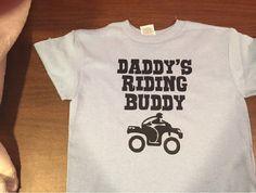 Daddy's Riding Buddy QUAD 4 Wheeler Kids by Ilove2sparkle