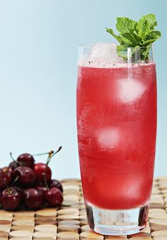 February is Cherry Month. Help your audience celebrate by sharing your opinion of this Bing Cherry Mojito recipe with them.  Join the Nutrition Entrepreneurs Mastermind for free, for more resources to help you Get Nutrition Clients. http://www.GetNutritionClients.com/nem