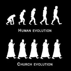 Atheism, Religion, God is Imaginary, Science, Evolution. Human Evolution. Church Evolution.