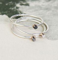 Diamondz Pearlz Rings