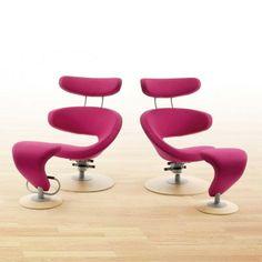 Varier Peel II Chair - Swivel Recliner Chair - http://www.fineback.co.uk/varier-peel-ii.html