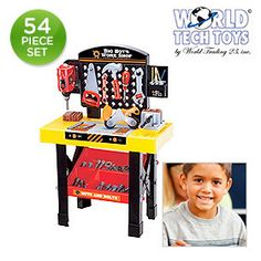 54-piece set: World Tech Toys big boy's workshop (on sale for $35.00)
