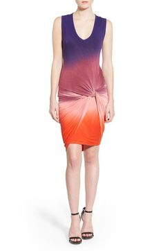 Young, Fabulous & Broke 'Fleur' Twist Front Body-Con Dress available at #Nordstrom
