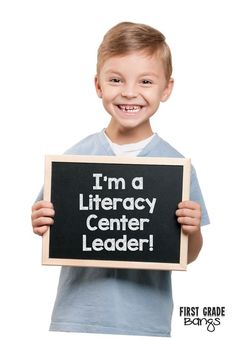 A blog post detailing how I got my STUDENTS to plan, fill, and run our Literacy Centers.  Leadership for them, and less work for me....it's a win-win!