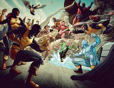 X-Men vs Brotherhood of Evil Mutants