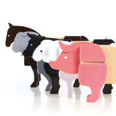 Guidecraft™ Block Mates Farm Animals - Guidecraft