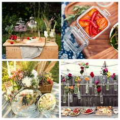 Detalhes para organizar comida e bebida em um casamento estilo pic nic_Blog Colher de Chá