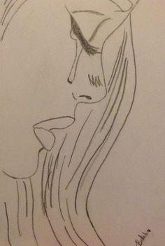 Sad drawings, easy drawings sketches, cute drawings of people, easy love drawings, Sad Sketches, Easy Drawings Sketches, Sad Drawings, Cool Art Drawings, Disney Drawings, Drawing Ideas, Drawing Projects, Easy Drawings Of Love, Drawings Of Hearts