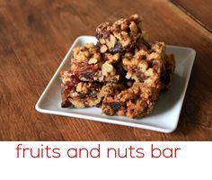 fruits and nuts bar