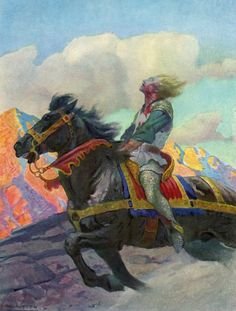 NC Wyeth  ~Repinned Via sams art inspiration
