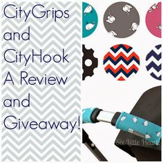 CityHooks and CityGrips A Review and GIVEAWAY! Pop over and enter!