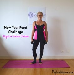 Barre Workout Upper & Lower Combo