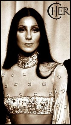 Cher all glammed up at The Academy Awards, 1973