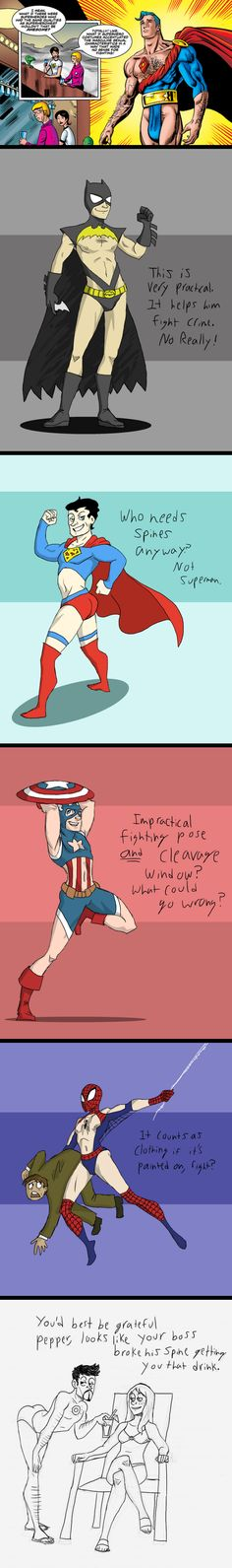 Superhero costumes // funny pictures - funny photos - funny images - funny pics - funny quotes - #lol #humor #funnypictures