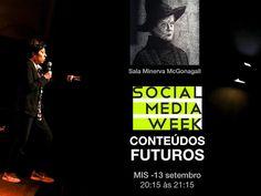 Minha palestra no SMWSP: CONTEÚDOS FUTUROS 13 setembro - 20:15 às 21:15 h Museu da Imagem e do Som Sala Minerva McGonagall  @smwSP #futurista #beiacarvalho #palestrantefuturista #futuro #conteúdos