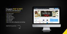 Coupon Portal PHP Script - https://codeholder.net/item/php-scripts/coupon-portal-php-script