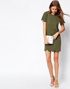 Image 4 ofDaisy Street Scallop Dress