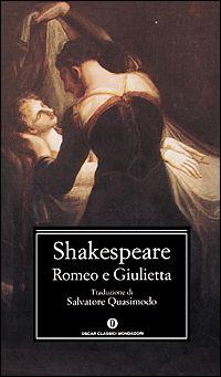 """""""Romeo e Giulietta"""" William Shakespeare. Dolcissimo, romanticissimo, travolgente e passionario. Le parole di Shakespeare sono intrecciate e scelte ad arte. E' un grande classico indiscutibile, e come tutti i grandi classici devono essere letti."""