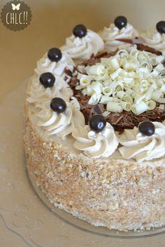tarta-de-moka-thermomix Mini Cakes, Cupcake Cakes, Cupcakes, Chess Cake, Pastel Cakes, Italian Desserts, Mocca, Pretty Cakes, Cupcake Recipes