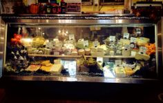 The cheese cupboard is full!