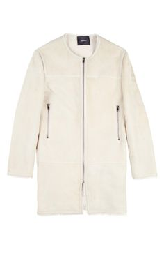 Boyce Coat In Ecru by Isabel Marant for Preorder on Moda Operandi