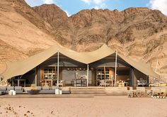 One of Natural Selection's newest attractions is the Hoanib Valley Camp, a four-hour drive...