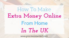 I want to share with you some of the ways you can make money online in the UK, working from home. I live in the UK and the methods  I share will be ones that I've personally used myself to make money online, as well as sites that are popular, which others have used to make money online. Some of the methods I mention pay in $ dollars, therefore they can also be used by non-UK citizens. (Note: You can still cash out from sites that pay in dollars if you live in the UK). So, whether you're…