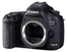 Idée de cadeau photo : Appareil photo reflexe numérique Canon 5D-MarkIII à -15% pendant 5 jours !