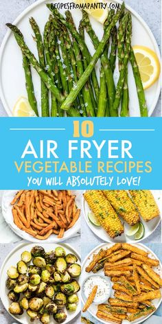 10 amazing Air Fryer vegetable recipes – tired of the same old boring and boring vegetables? These 10 amazing Air Fryer Ge – 10 amazing Air Fryer vegetable recipes – tired of the same old boring and boring vegetables? These 10 amazing Air Fryer Ge – Air Fryer Recipes Vegetables, Air Fryer Oven Recipes, Air Fryer Dinner Recipes, Vegetable Recipes, Veggies, Healthy Vegetables, Cooks Air Fryer, Air Frier Recipes, Air Fryer Recipes Breakfast