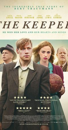 The Keeper is a British-German biographical film directed by Marcus H. Rosenmüller and starring German actor David Kross as the footballer Bert Trautmann. Buy Movies, Movies 2019, Movies To Watch, Movies Online, Movies Free, Movies And Series, Movies And Tv Shows, Tv Series, Livros