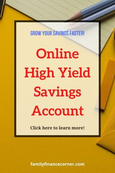 Online savings accounts, like the Capital One 360 Performance Savings, are probably one of the easiest forms of passive income with the lowest risk. The growth that can be achieved with these high yield savings accounts is vastly greater than a traditional savings accounts. Learn why I switched! #savings #money #savemoney #personalfinance #passiveincome Online Savings Account, High Yield Savings Account, Savings Accounts, Capital One 360, Greater Than, Budgeting Tips, Growing Your Business, Passive Income, Money Saving Tips