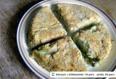 Füstölt pisztrángos-burgonyás torta